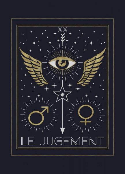 The Judgement Leinwandbild