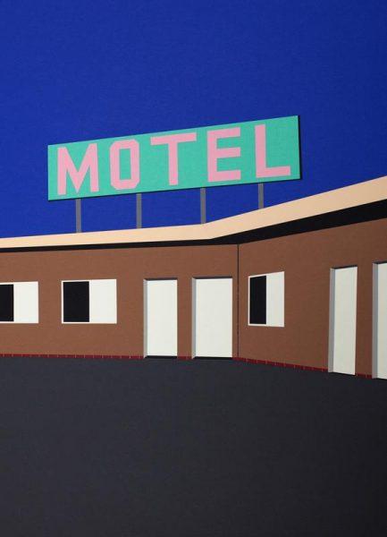 The Love Motel Leinwandbild