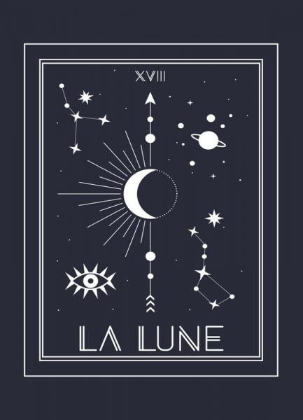 The Moon Leinwandbild