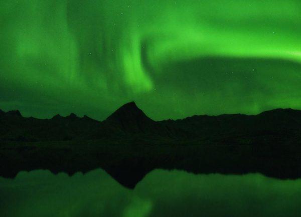 The Northern Lights 06 Leinwandbild