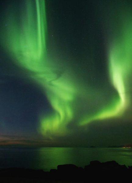 The Northern Lights 08 Leinwandbild
