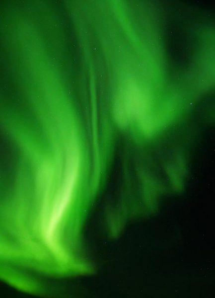 The Northern Lights 09 Leinwandbild