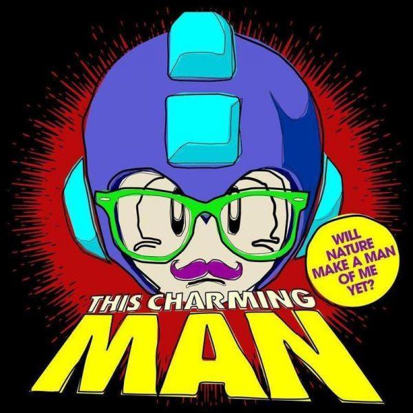 This Charming Mega Man Leinwandbild