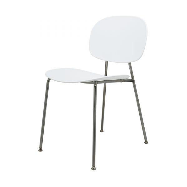Tondina Pop Stuhl schwarz-weiß