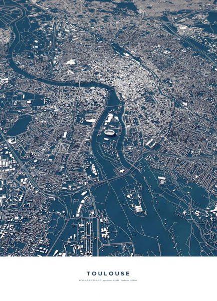 Toulouse Leinwandbild