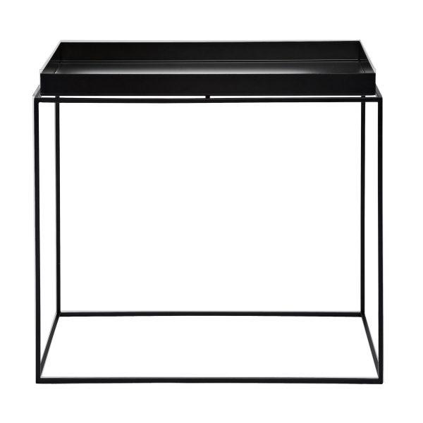 Tray Table Beistelltisch schwarz 60x40