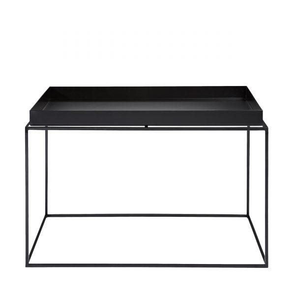 Tray Table Beistelltisch schwarz 60x60