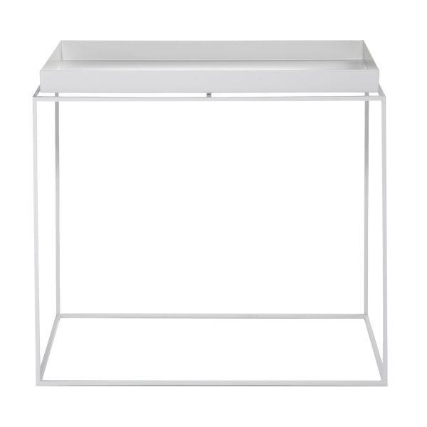 Tray Table Beistelltisch weiß 60x40