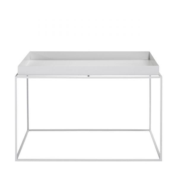 Tray Table Beistelltisch weiß 60x60
