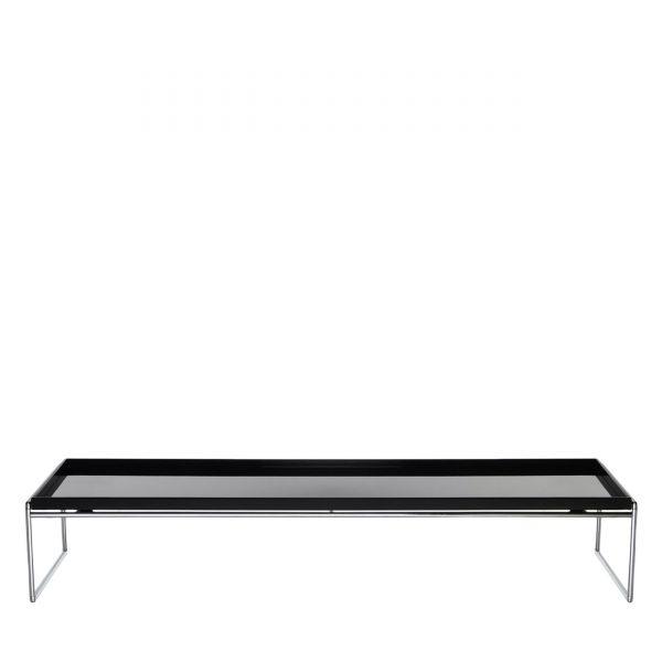 Trays Beistelltisch 140x40 schwarz