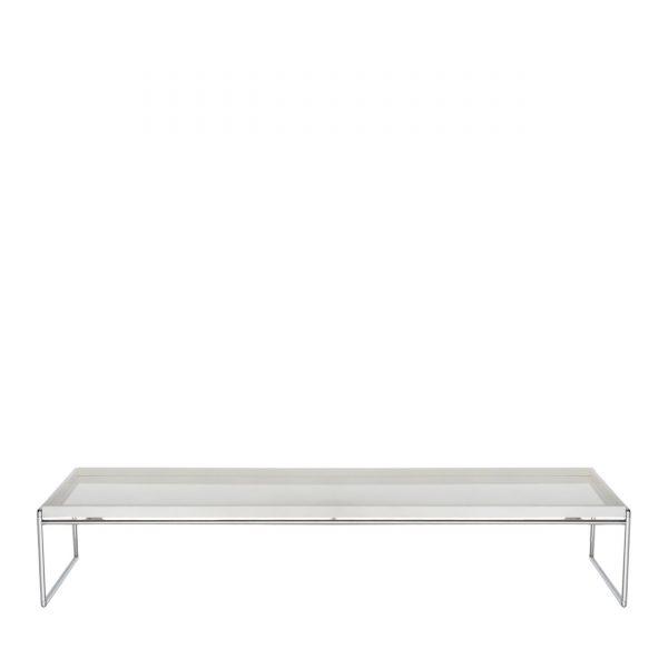 Trays Beistelltisch 140x40 weiß