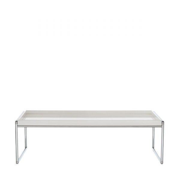 Trays Beistelltisch 80x40 weiß