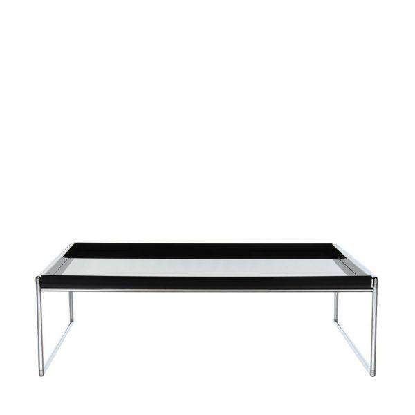 Trays Beistelltisch 80x80 schwarz