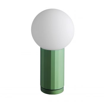 tischlampe grün new york