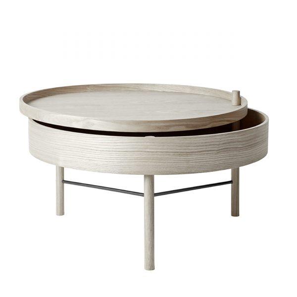 Turning Table Beistelltisch natur
