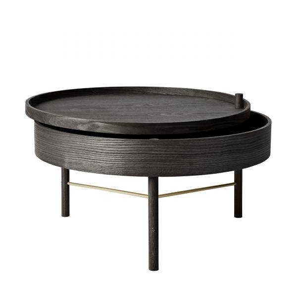 Turning Table Beistelltisch schwarz