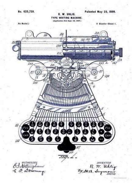 Type Writing Machine