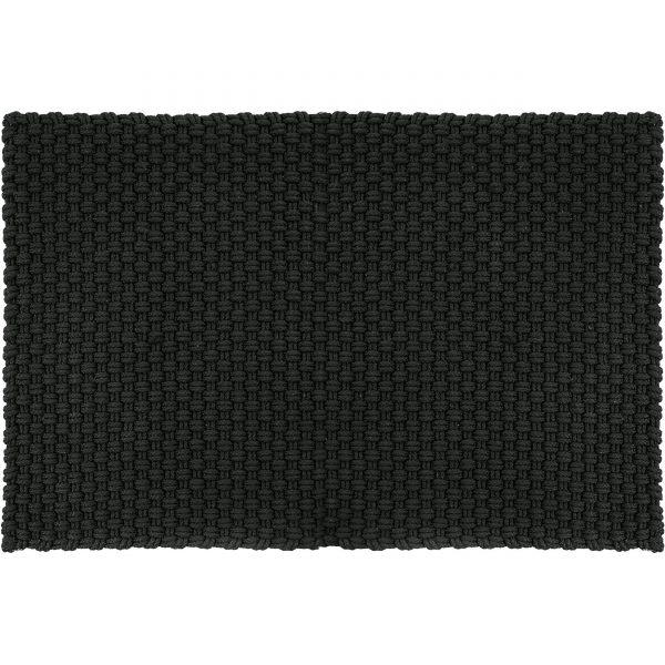Uni Fußmatte Badematte Outdoorteppich 240 schwarz