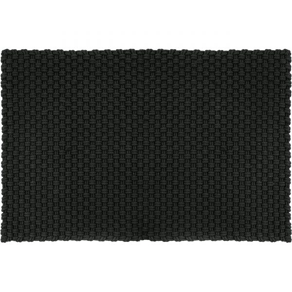 Uni Fußmatte Badematte Outdoorteppich 300 schwarz