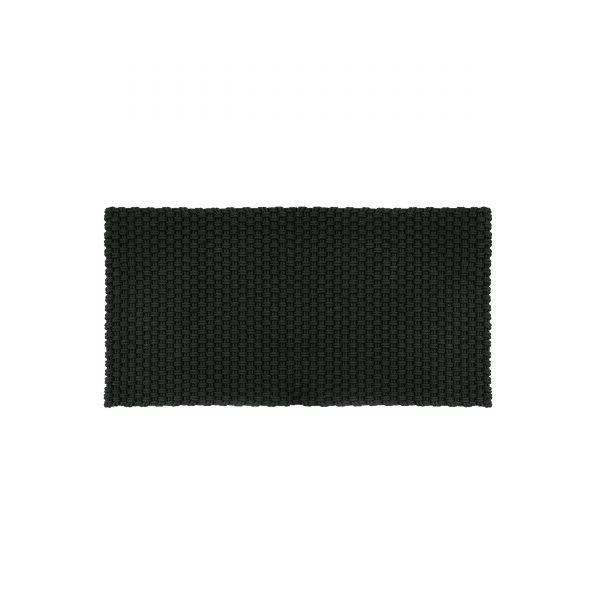 Uni Fußmatte Badematte Outdoorteppich 72 schwarz