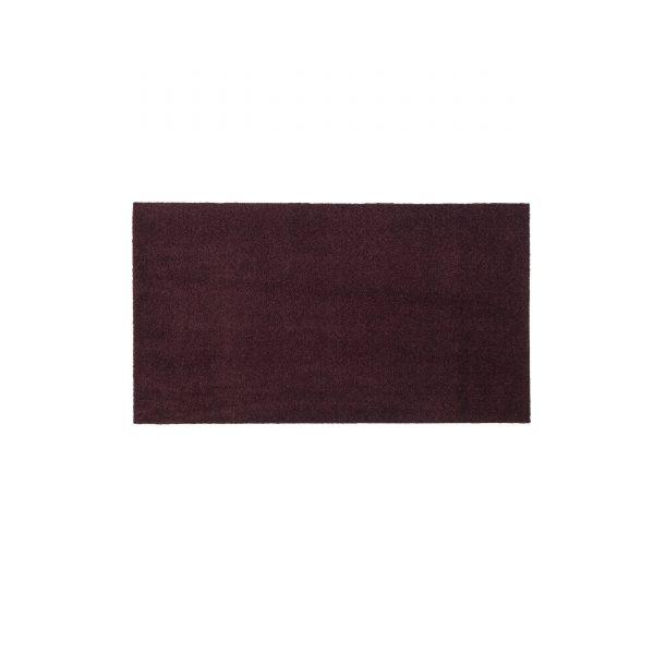 Unicolor 120 Sauberlaufmatte bordeaux
