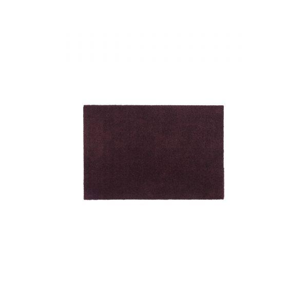 Unicolor 60 Sauberlaufmatte bordeaux