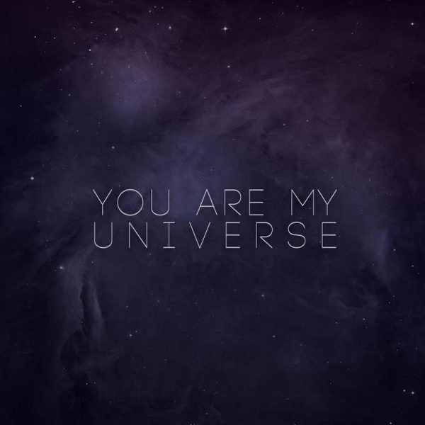 Universe Leinwandbild