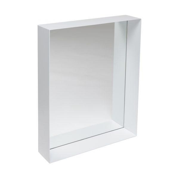 Unu Spiegel mit Rahmen 50 weiss
