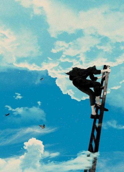Up There Leinwandbild