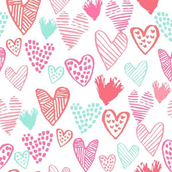 Valentines Pretty Leinwandbild