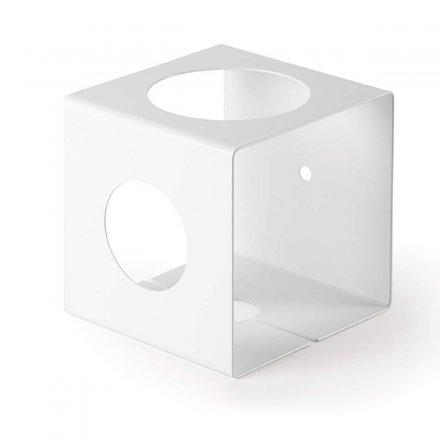 Vase ALIACTA weiß weiß Stahlblech