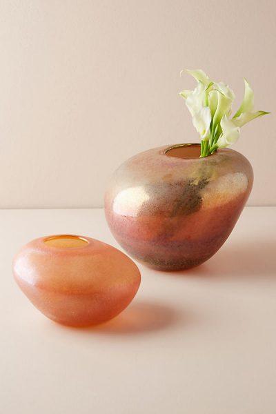Vase mit Kieselsteindesign - Sand45233939EU