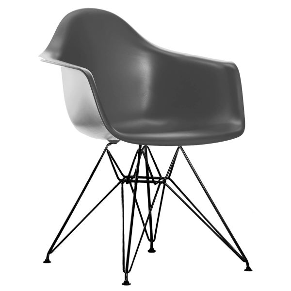 Vitra - Eames Plastic Armchair DAR (H 43 cm)