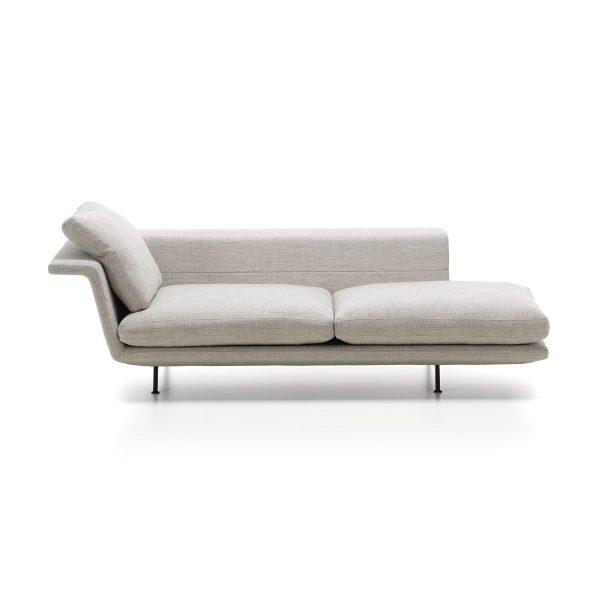 Vitra - Grand Sofà / Chaise Longue rechts offen