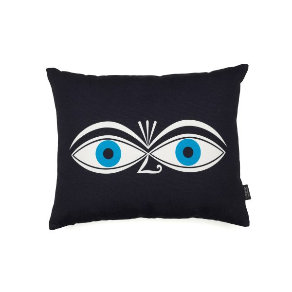Vitra - Graphic Print Pillow - Eyes 40 x 30 cmSchwarzH:30 B:40