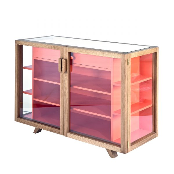 Vitrina Cabinet Sideboard orange