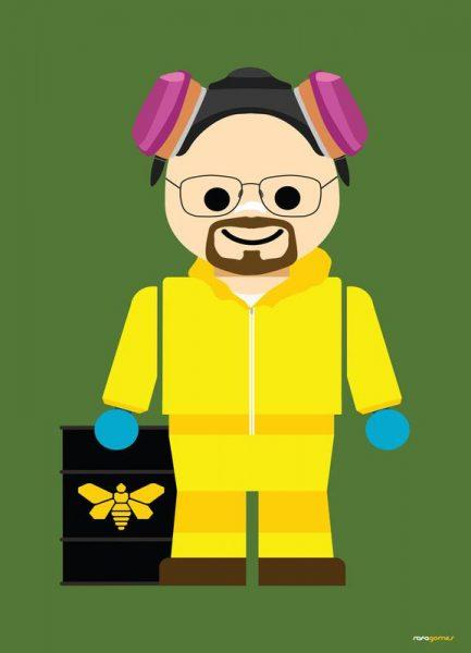 Walter White Heisenberg Toy Leinwandbild