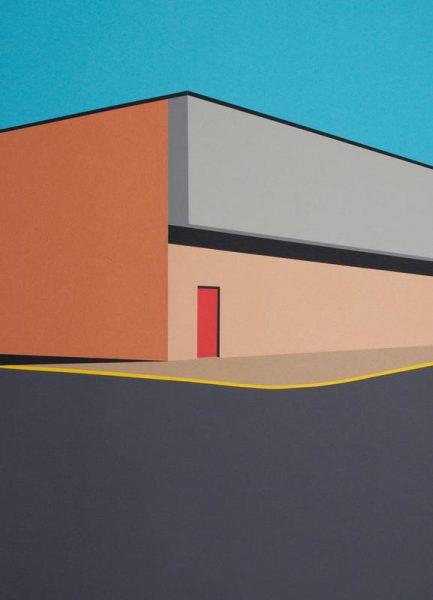 Warehouse Leinwandbild