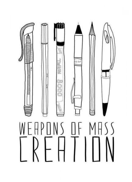 Weapons of Mass Creation Leinwandbild
