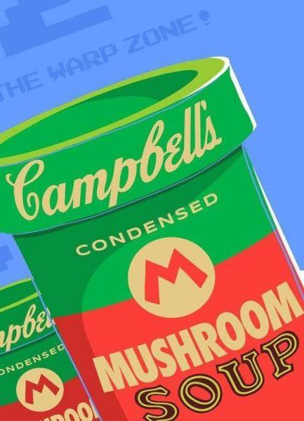 Welcome to the Warhol Zone Leinwandbild