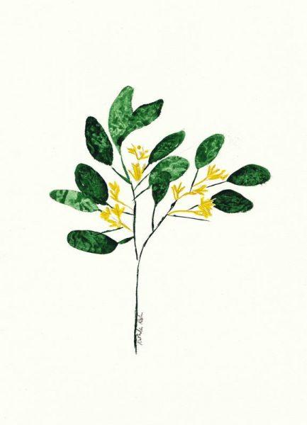 Wild Plant Leinwandbild