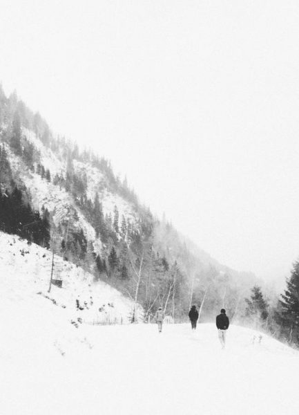 Winter Tag 5 Leinwandbild