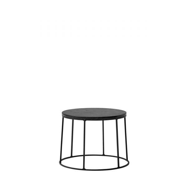 Wire Table Beistelltisch 20 schwarz