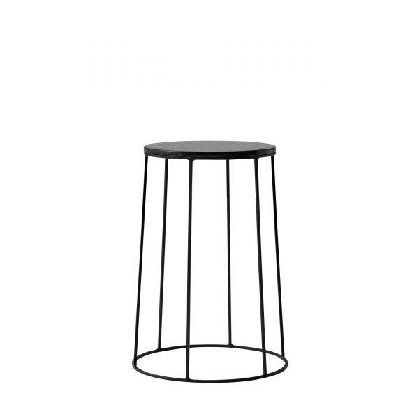 Wire Table Beistelltisch 40 schwarz