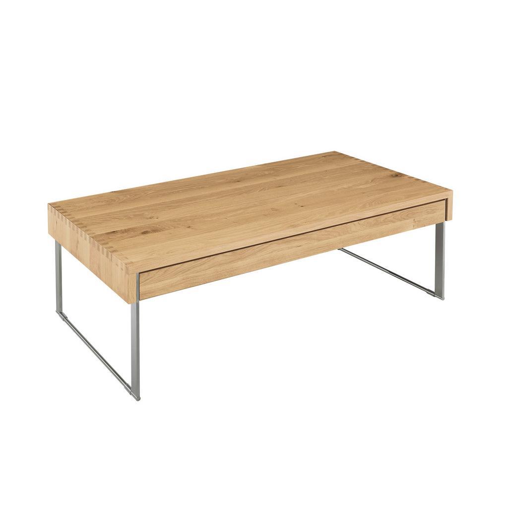 xxxl couchtisch wildeiche massiv rechteckig braun online kaufen bei woonio. Black Bedroom Furniture Sets. Home Design Ideas