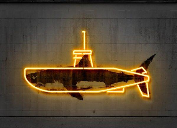 Yellow Submarine Leinwandbild