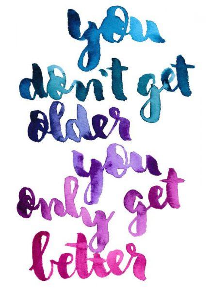 You Don´t Get Older Leinwandbild