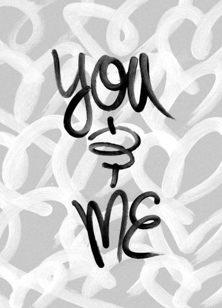 You and Me Leinwandbild