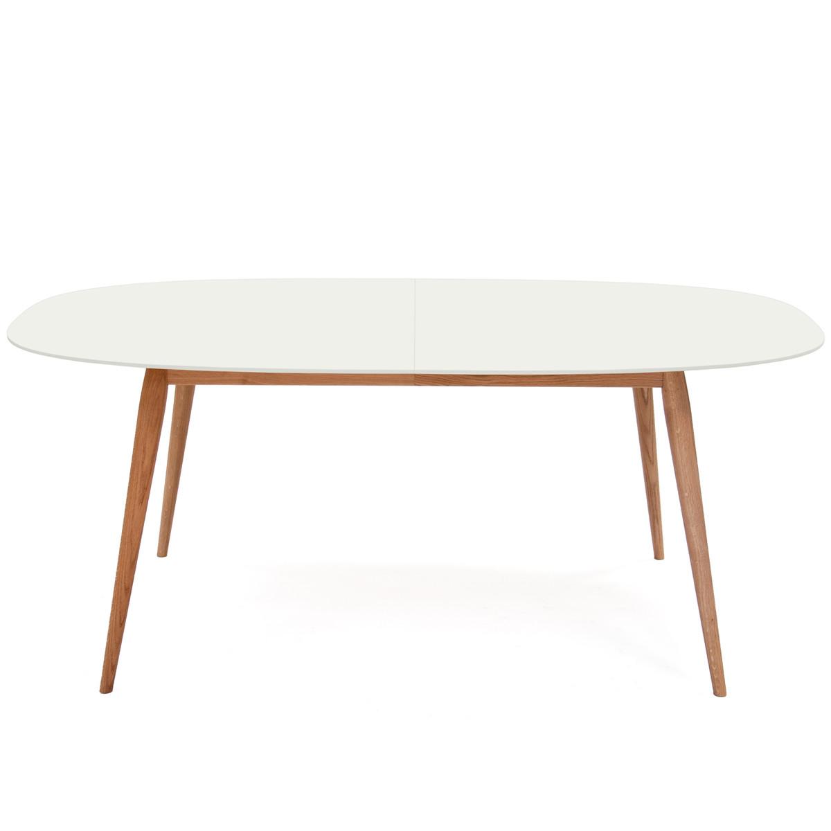 bruunmunch playdinner lam esstisch 180 280 cm eiche ge lt wei wei t 100 h 73 b 180. Black Bedroom Furniture Sets. Home Design Ideas