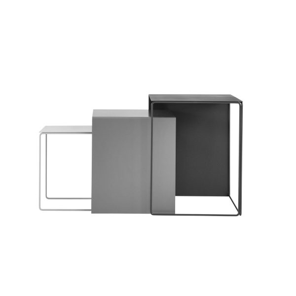 ferm Living - Cluster Tables (3er Set)